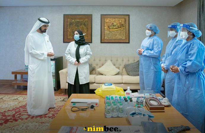 حاکم دبی به برنامه آزمایش واکسن ویروس کرونا پیوست