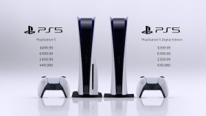 قیمت کنسولهای PS5