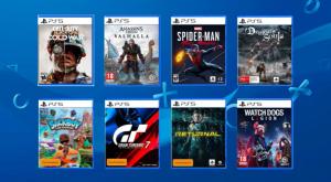 بازیهای هنگام عرضه کنسول PS5