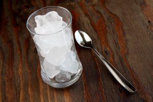 یخ آماده برای آیس کافی